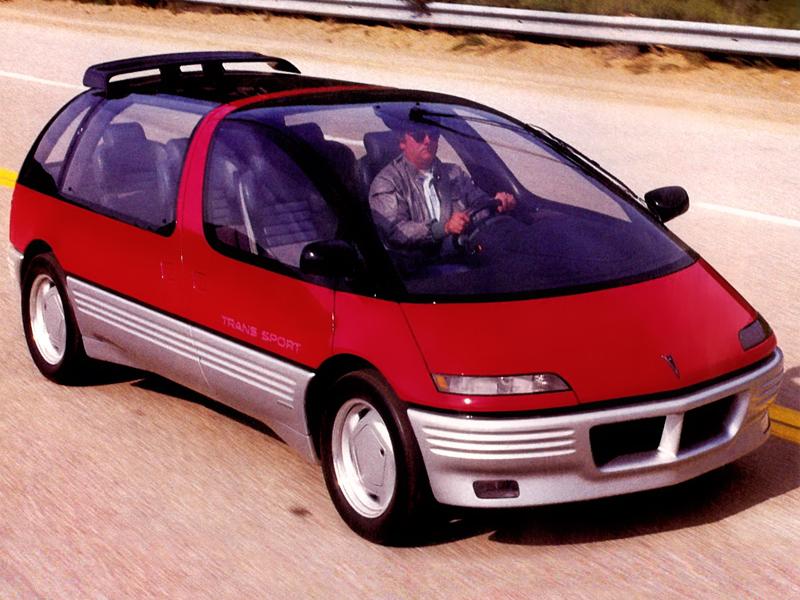 Le prototype Trans Sport de 1986