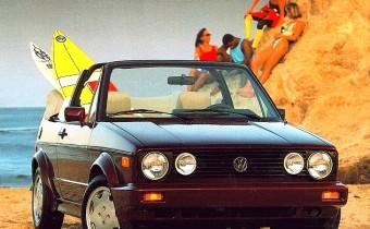 Volkswagen Golf 1 Cabriolet : l'initiatrice