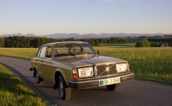 """Volvo 244 DLS : """"Ich bin Millionär"""""""