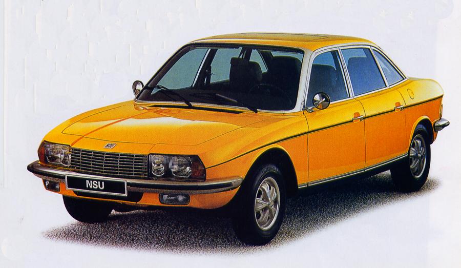 La NSU Ro 80 lancée en 1967, et équipée quasiment du même moteur que la GS Birotor !