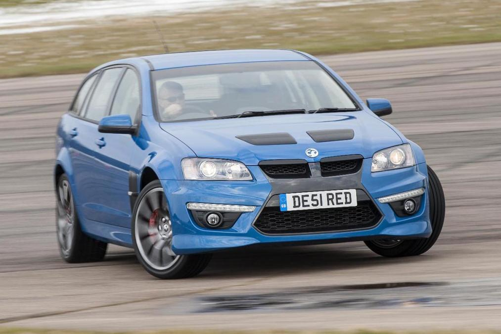 "La Vauxhall VXR8 ""VE"" disponible en version Sportwagon"