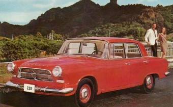 Borgward 230 : l'aventure mexicaine