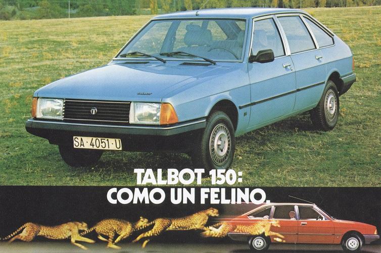 La Talbot 150, vendue en Espagne !