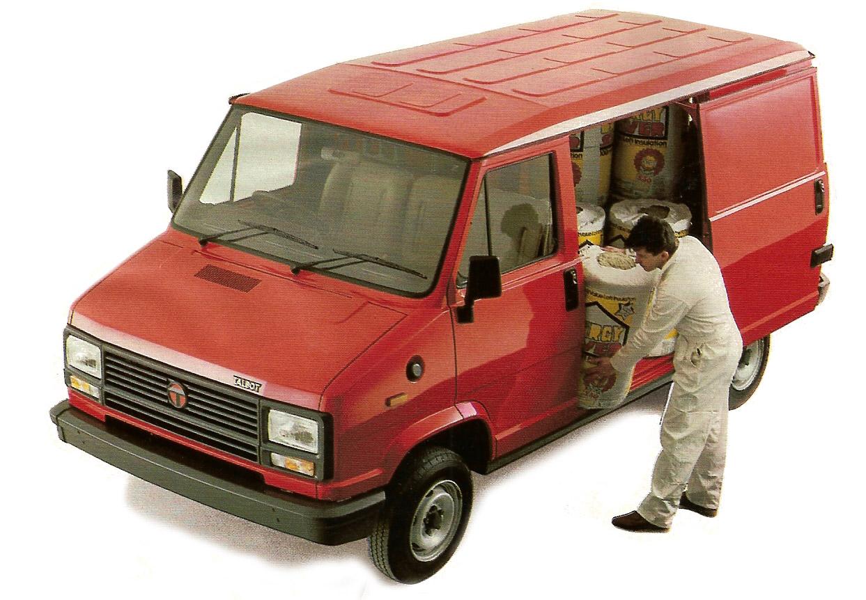 l'Express fut le dernier survivant de la gamme Talbot en Angleterre, et jusqu'en 1992