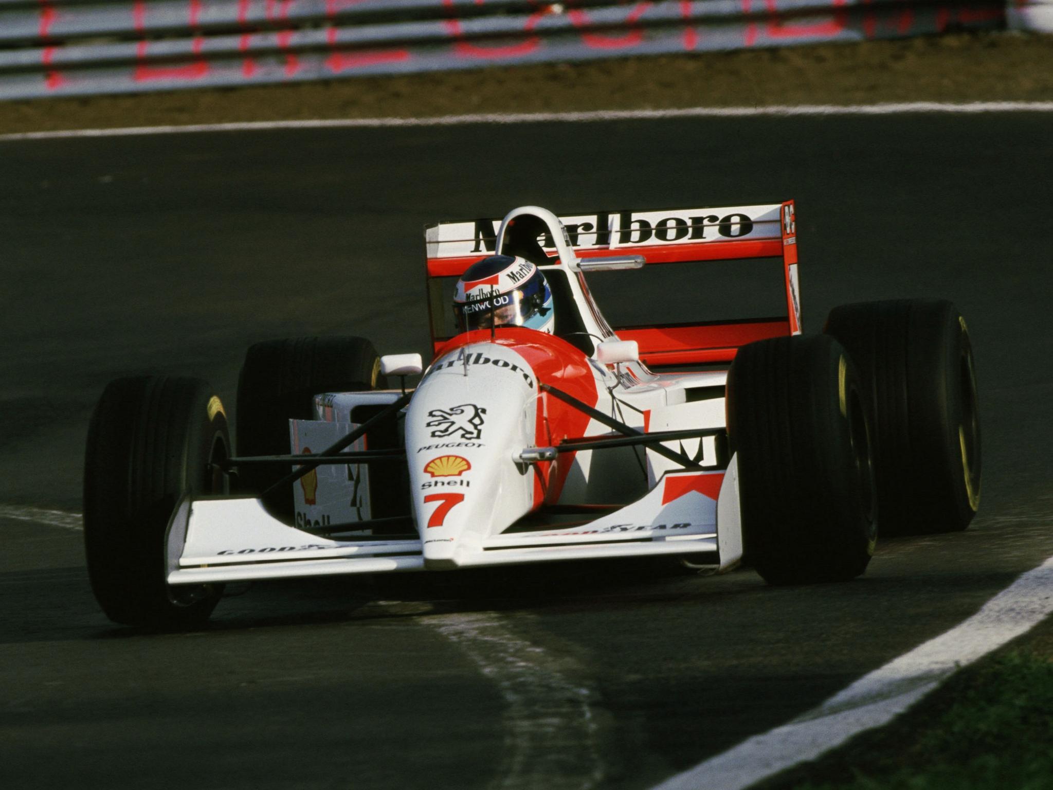 Peugeot s'engage en F1 en 1994 avec McLaren.. .une association qui ne durera qu'une année