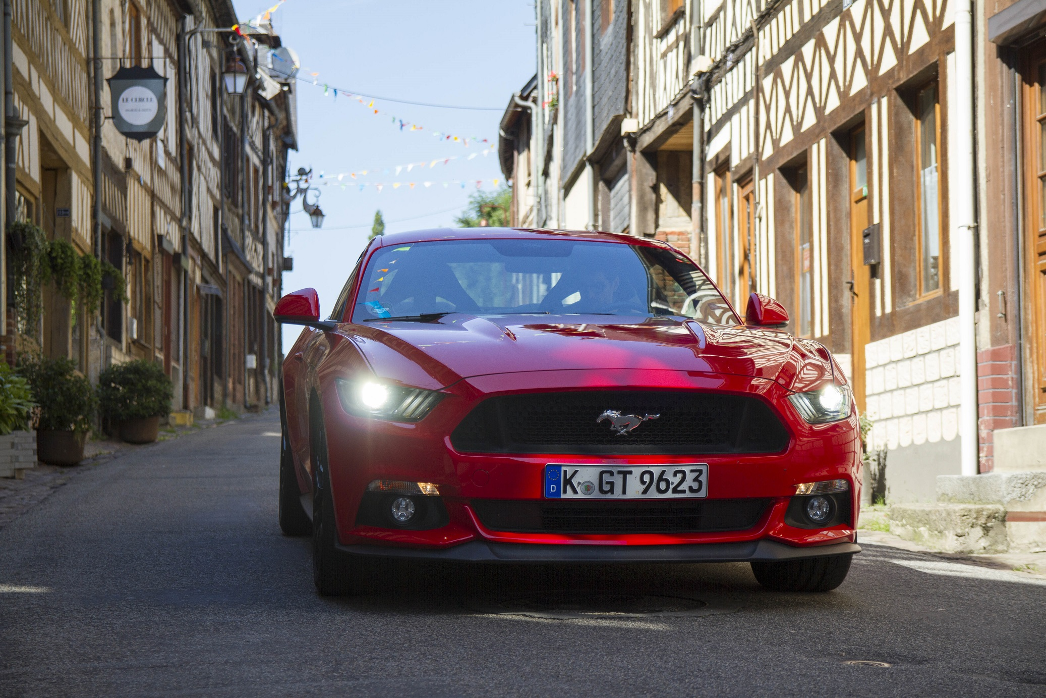 Attention, voici la Mustang VI !