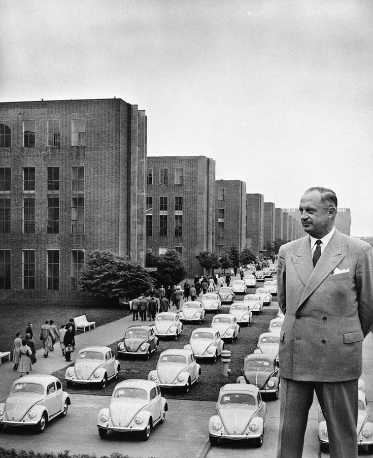 Heinz Nordhoff prit la succession de Hirst en 1948, et venait de chez Opel !