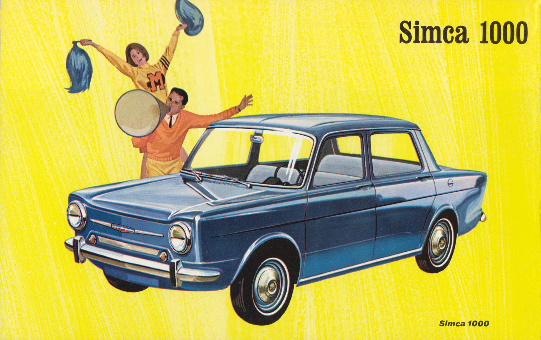 La 1000, dernière Simca née sous l'ère Pigozzi !