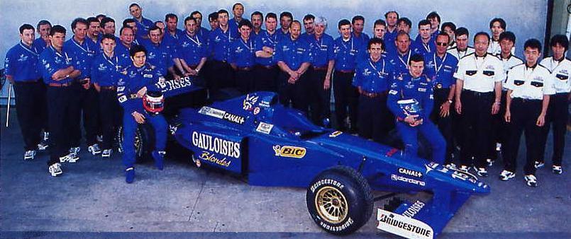 L'équipe Prost Grand Prix au grand complet !