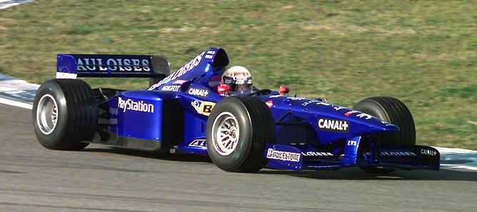 L'AP01, première Prost Grand Prix à moteur Peugeot !