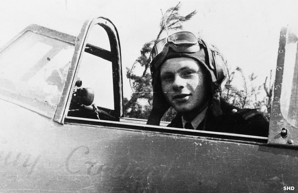 Roland de la Poype faisait partie du célèbre groupe de chasse Normandie Niemen