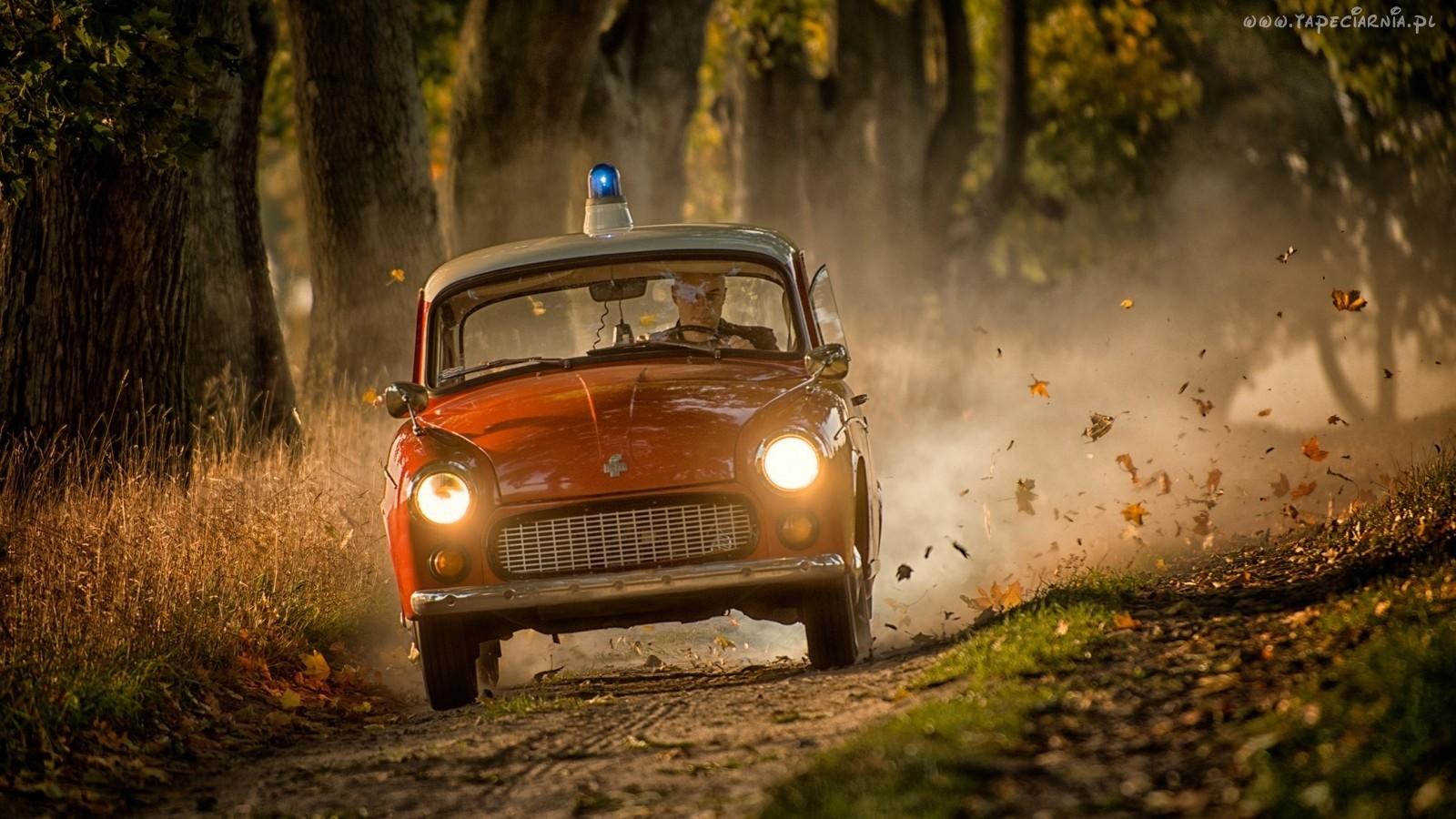 La Syrena 105 servira aussi à la police et aux pompiers polonais !