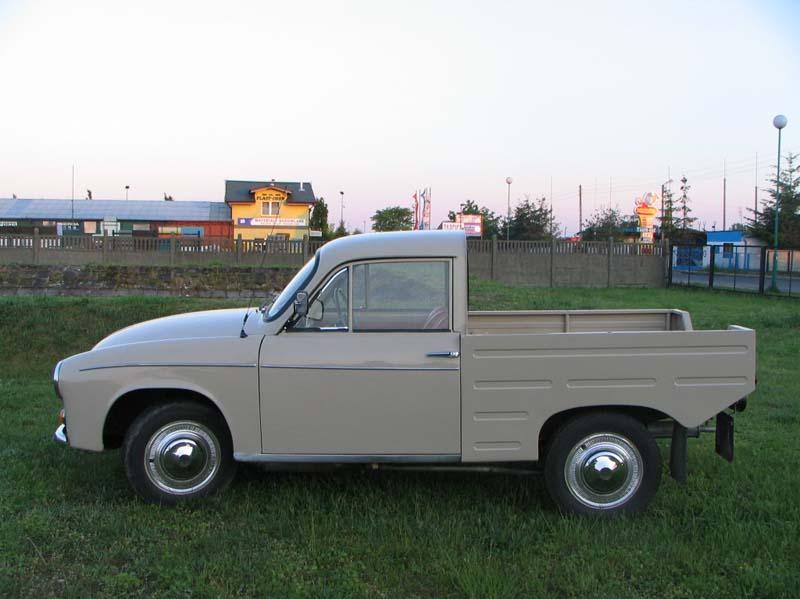 La R20, version pick up de la Syrena 105