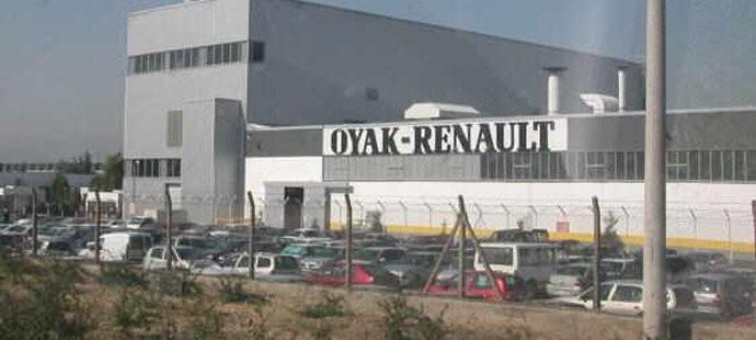 L'usine Oyak-Renault de Bursa