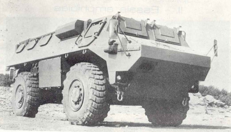 Un des 5 prototypes du VAB !