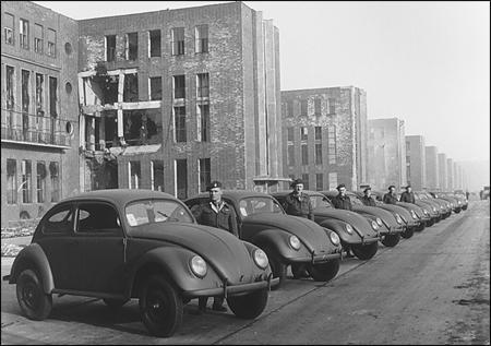 Les premières Volkswagen seront destinées à l'armée britannique !