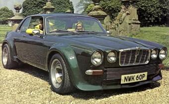 "Jaguar XJ12C ""Broad"": un Copy Cat pour John Steed !"