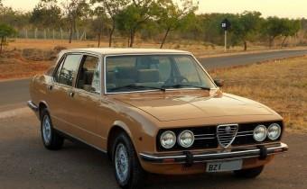 Alfa Romeo/FNM 2300: la dernière Alfa brésilienne !