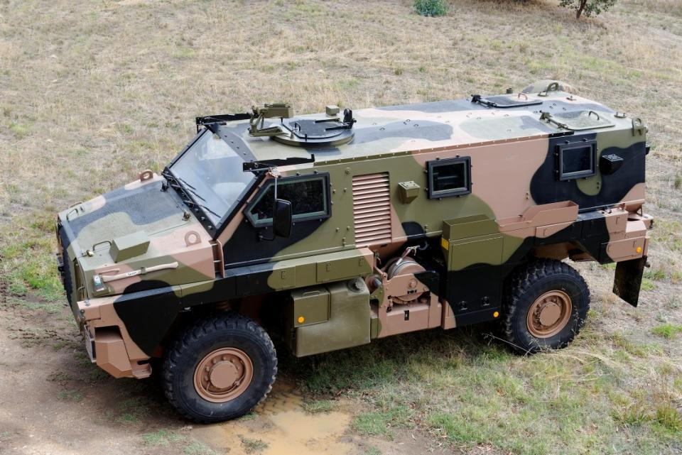Le Bushmaster, produit par Thalès, et qui équipe déjà l'armée Australienne !