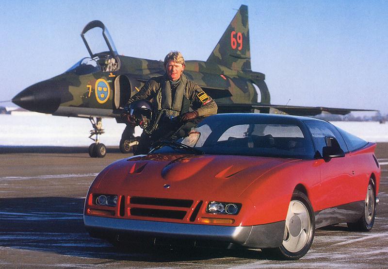 Saab est bien sûr présente dans Back to the Future avec son EV-1 !