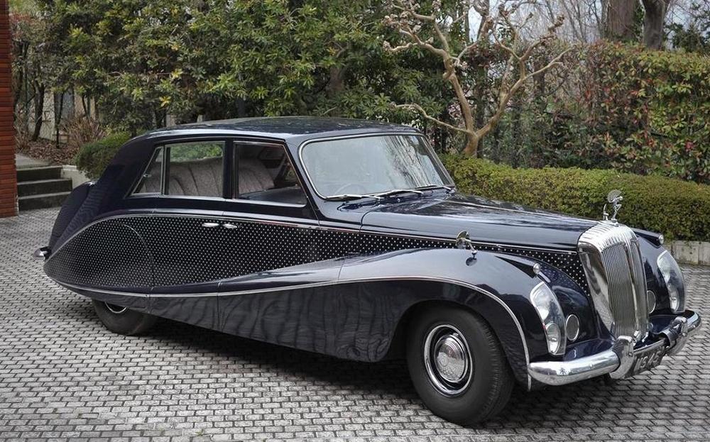 L'une des folies de Lady Docker, la Daimler Stardust de 1954