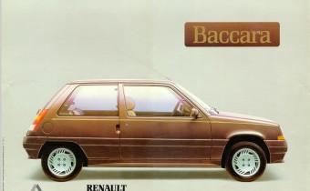 Renault Super 5 Baccara : la star des beaux quartiers !