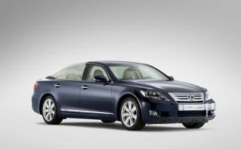Lexus LS 600h L : cadeau de mariage princier !