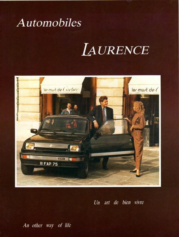 La Laurence, premire tentative indépendante d'embourgeoiser la Renault 5