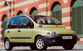 La Fiat Multipla n'est pas moche, elle n'a pas un physique facile !