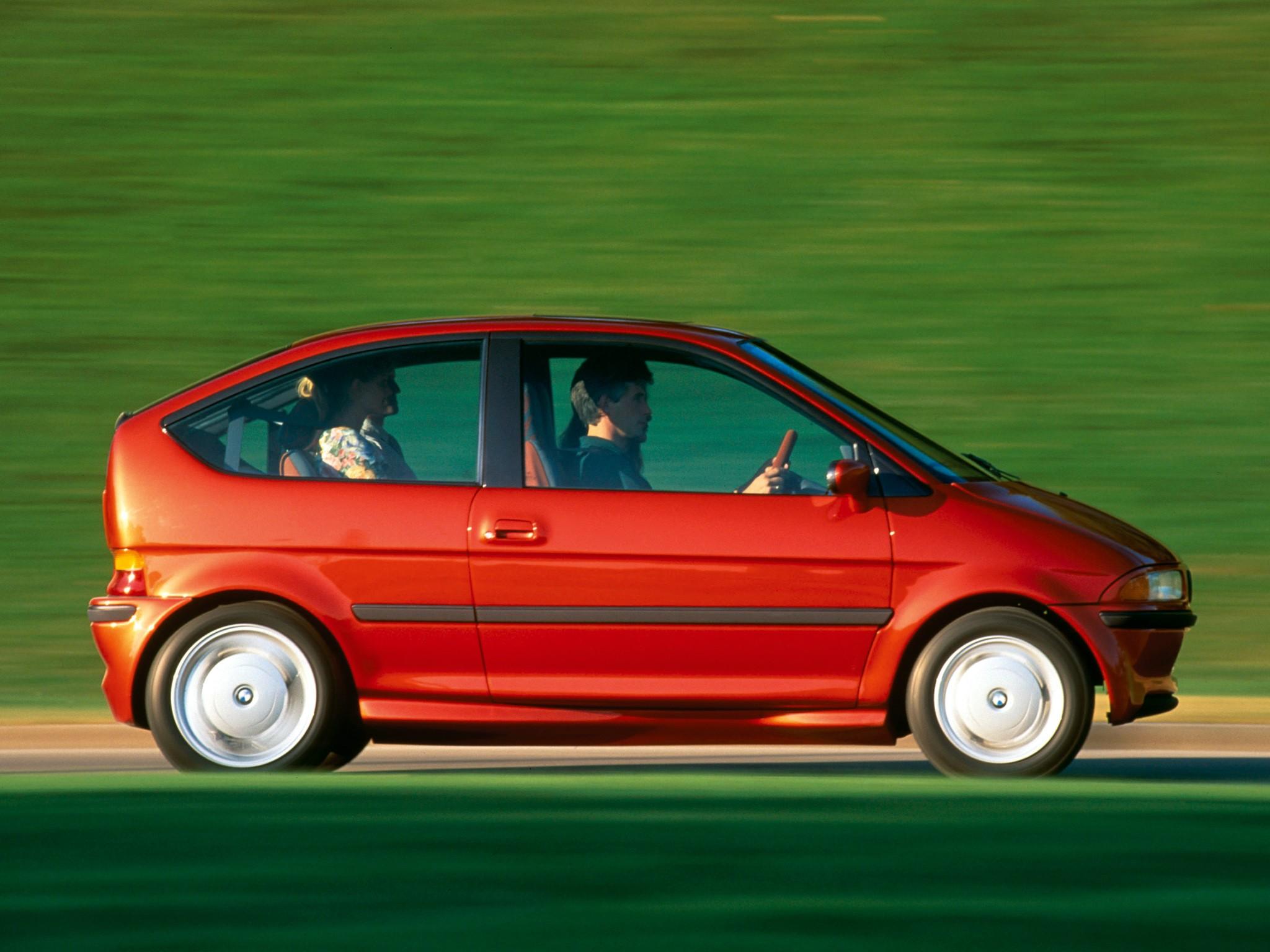 La BMW Z11 électrique (dite E1) de 1991 !