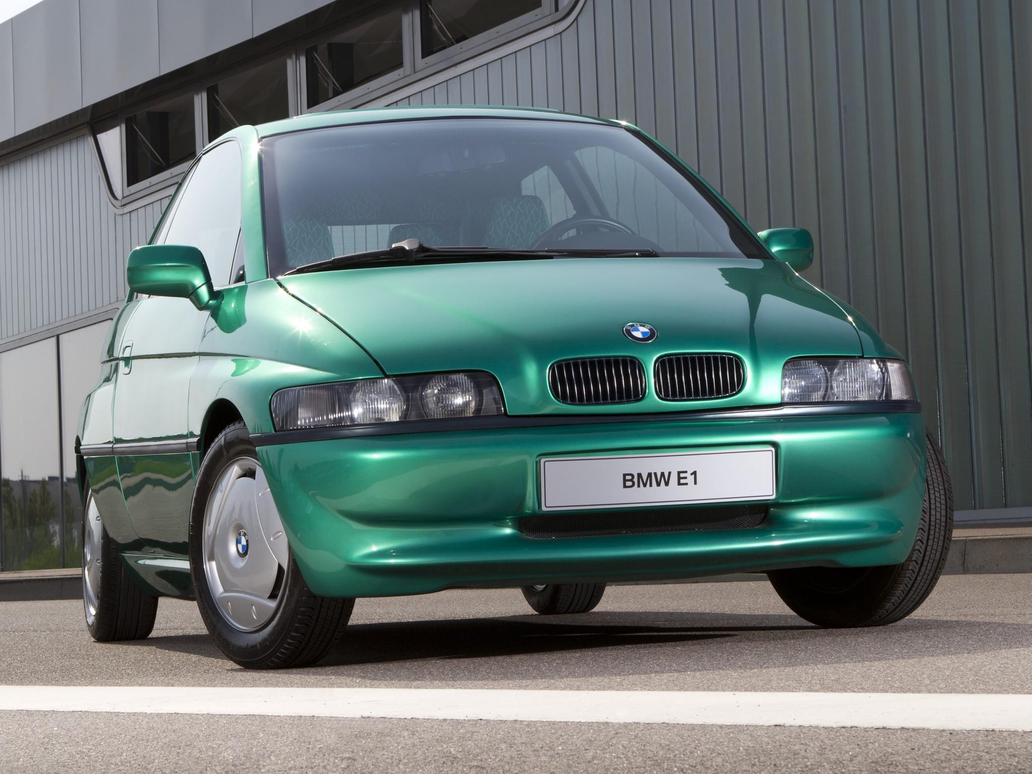 La BMW Z15 électrique (dite aussi E1) de 1993 !