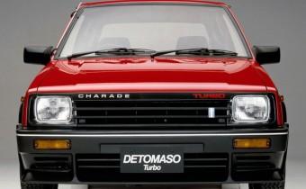 Daihatsu Charade De Tomaso : curiosité italo-japonaise !