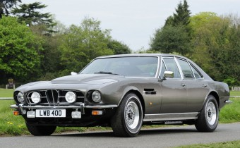 Lagonda Série 1 : une Aston Martin V8 à quatre portes !