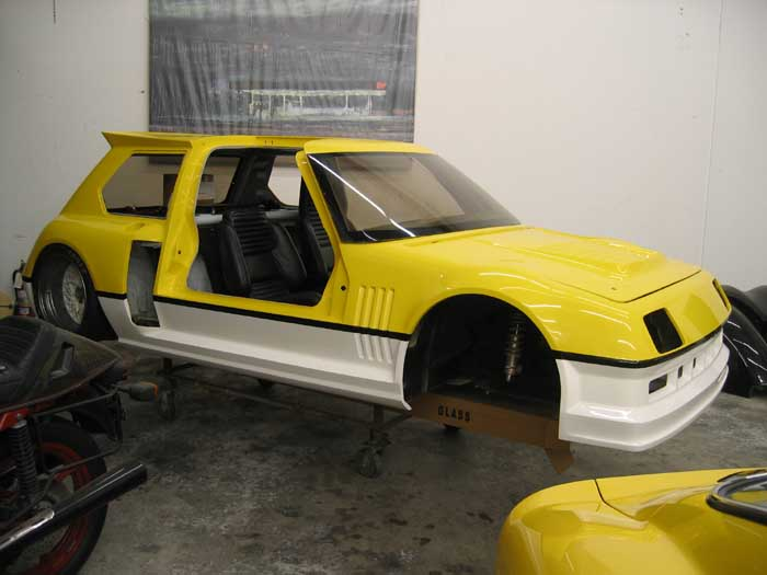 La Renault 5 Turbo PPG pendant sa restauration !