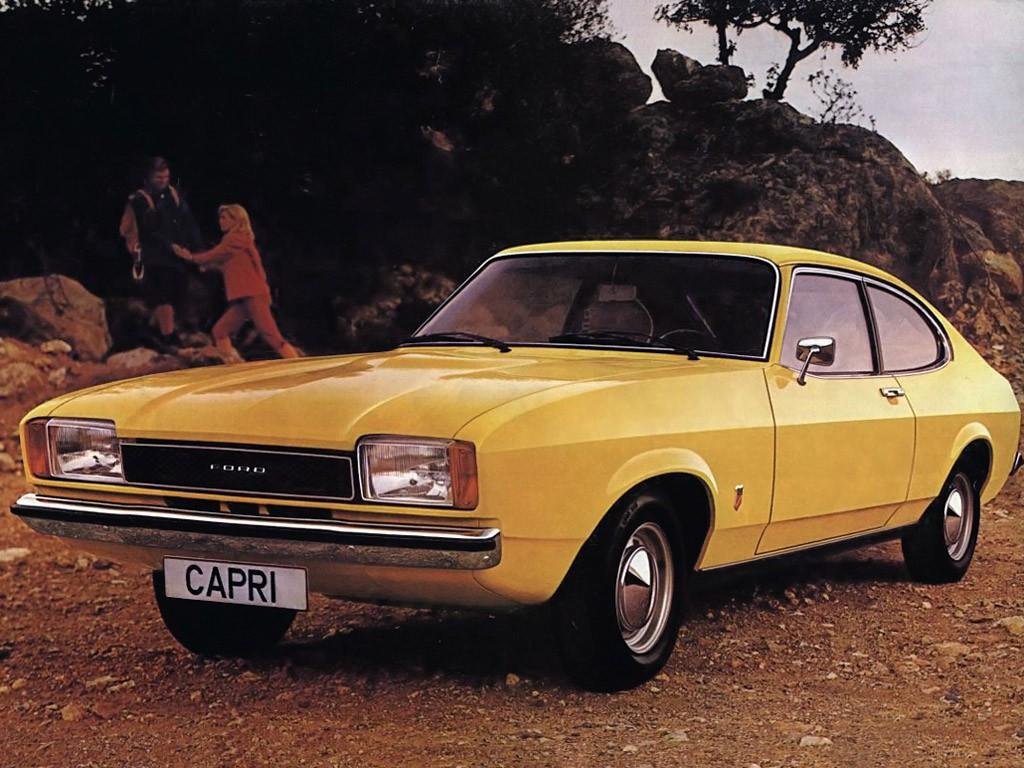 La Capri Mk2 devient plus banale !