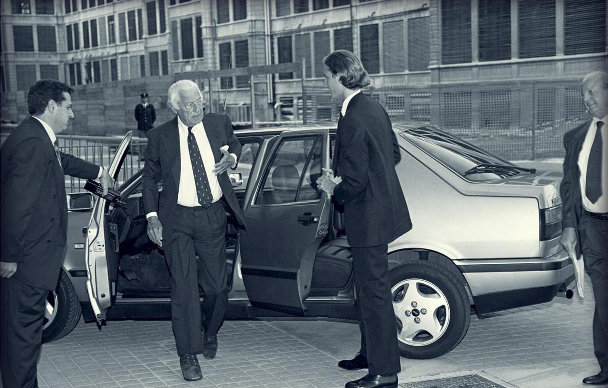 La phase 2 eut droit à une version V6, un Busso, qu'Agnelli affectionnait !