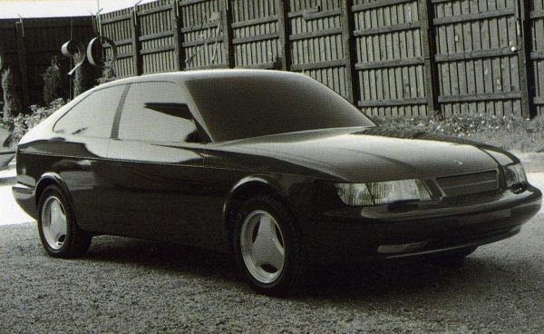 La Saab EV-2, qui donnera naissance à la 900 NG