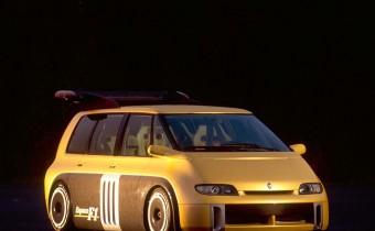 Renault Espace F1: de la folie furieuse !