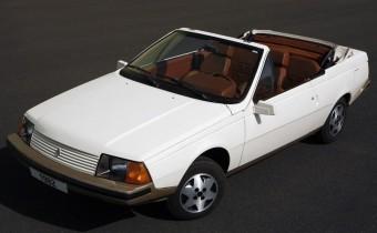 Renault Fuego Cabriolet : la proposition d'Heuliez
