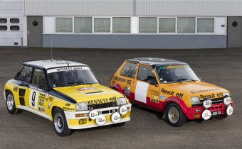 Renault engage 4 Renault 5 au Monte Carlo historique !