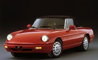 Alfa Romeo Spider: toute une (longue) époque !