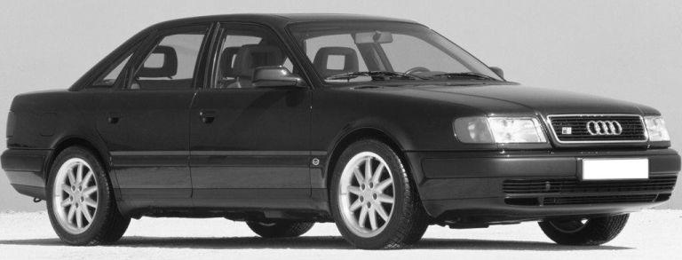 L'Audi 100 S4 / Audi S6 donne sa base à la S6 Plus