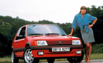 "Peugeot 205 GTI : ""Mythologie"" des années 80 !"