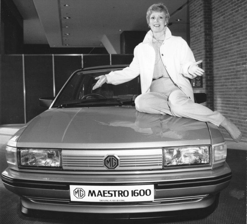 La MG Maestro 1600, avec son moteur faiblard, ne restera qu'un an au catalogue