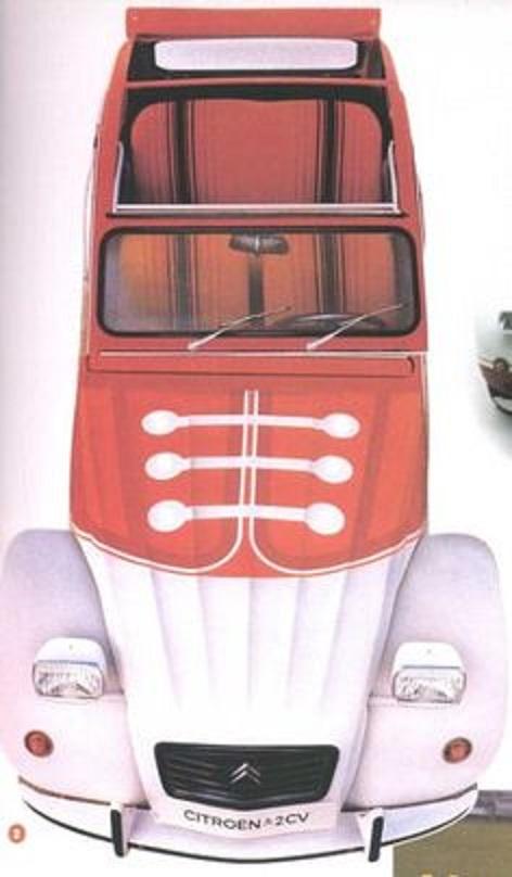 La 2CV Marcatelo espagnole, 300 exemplaires en 1982 !