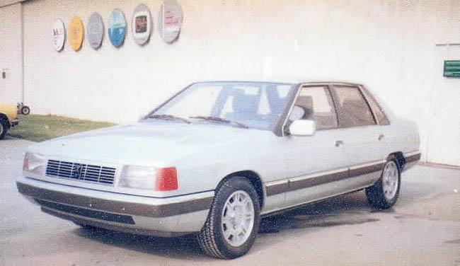 """Proposition d'Heuliez pour une nouvelle """"Peugeot-Tagora"""", en 1982"""