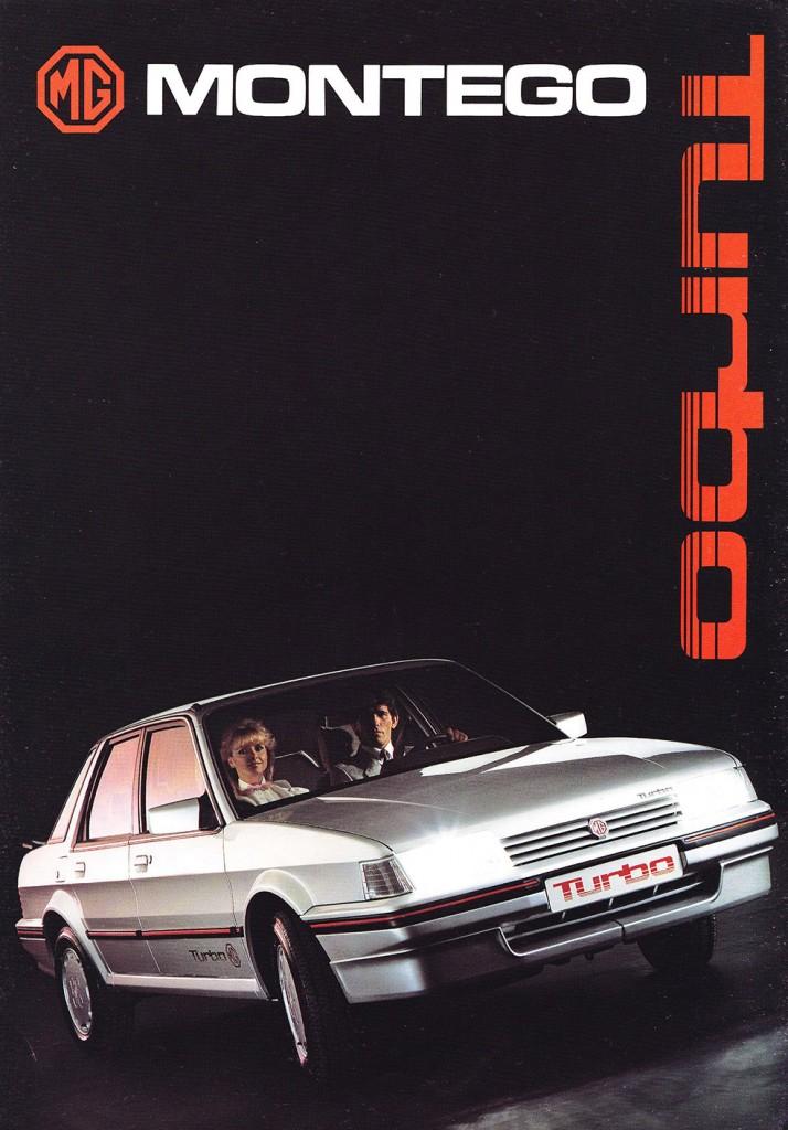 La MG Montego Turbo apparaît, contre toute logique, en 1985