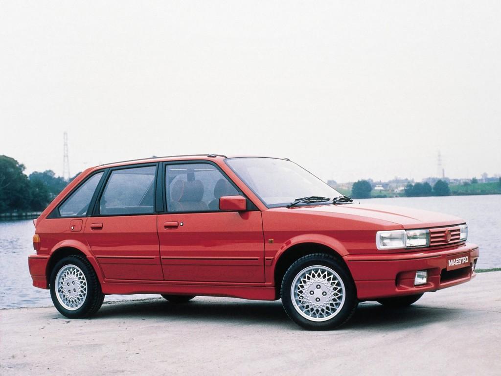 La Maestro Turbo est la seule à recevoir un kit carrosserie signé Tickford !