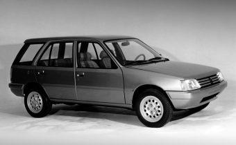 Peugeot 205 Verve : Pininfarina tente le break !