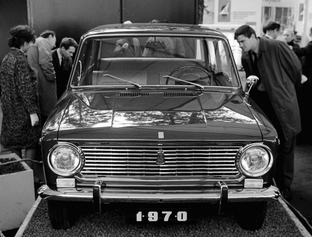La 2101 Jigouli, présentée en 1970 !